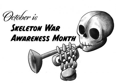 COMIC: Skeleton war awareness month
