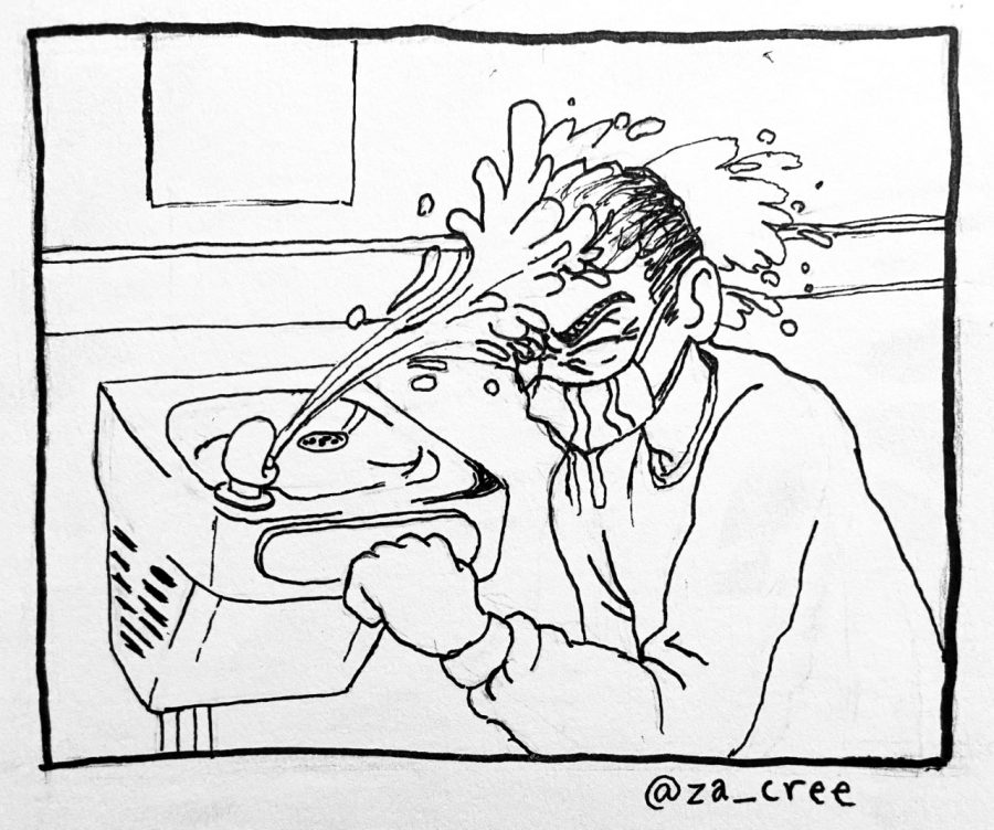 COMIC: Water mask